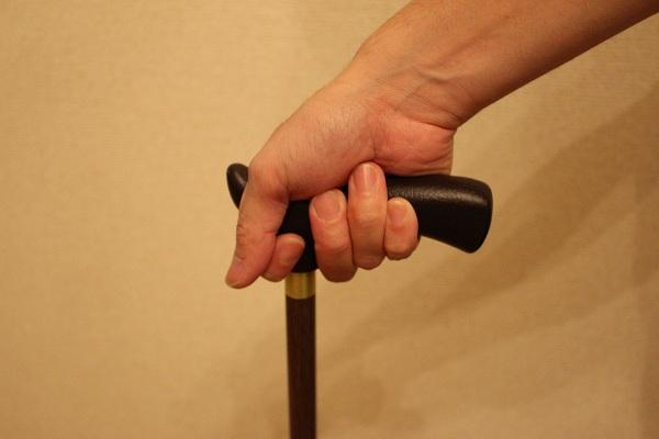 杖の正しい握り方