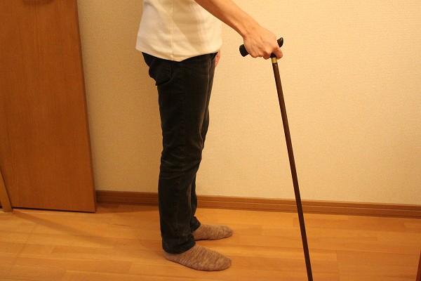 杖の付き方