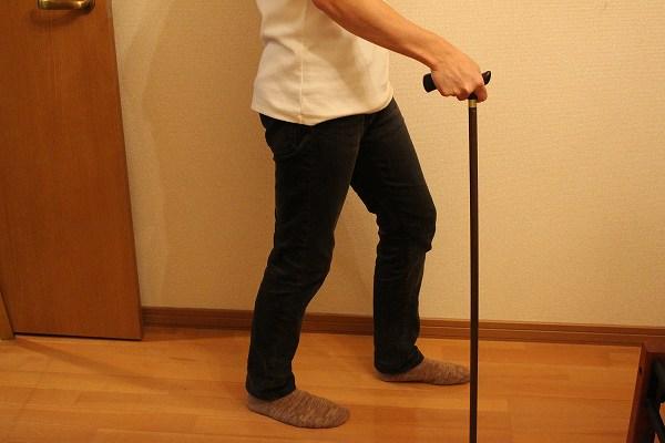 杖の使い方