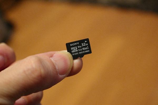 SONY microSDカード