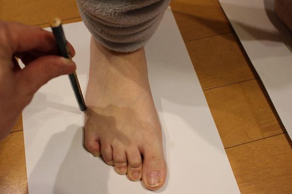 足 サイズ 測り方