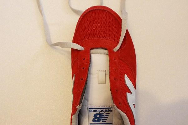 靴紐 格子型