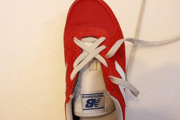 靴紐 格子