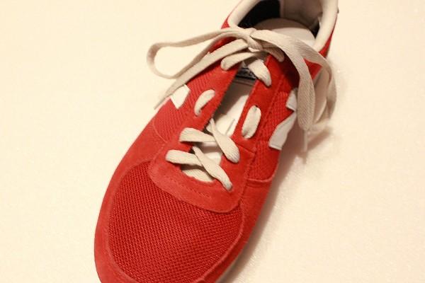 甲高 靴紐 結び方