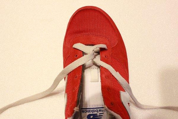 ねじり 靴紐