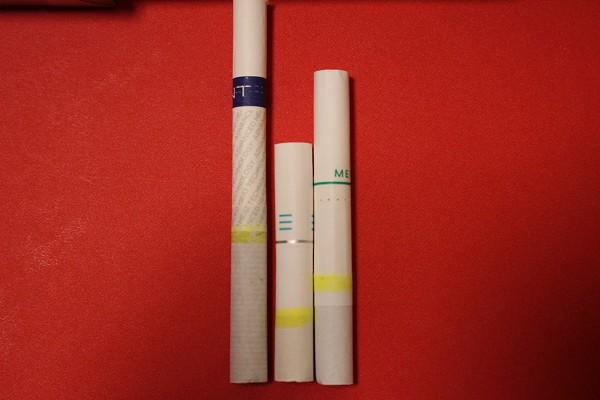 タバコ 長さ 比較